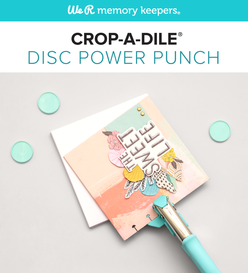 We R Memory Keepers Crop A Dile Disc Power Punch
