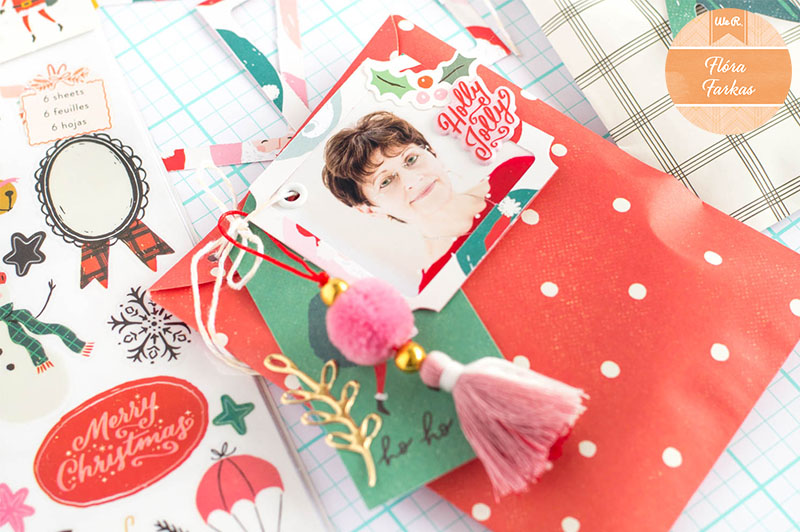 Holiday Gift Wrap with the We R Memory Keepers Corner Chomper