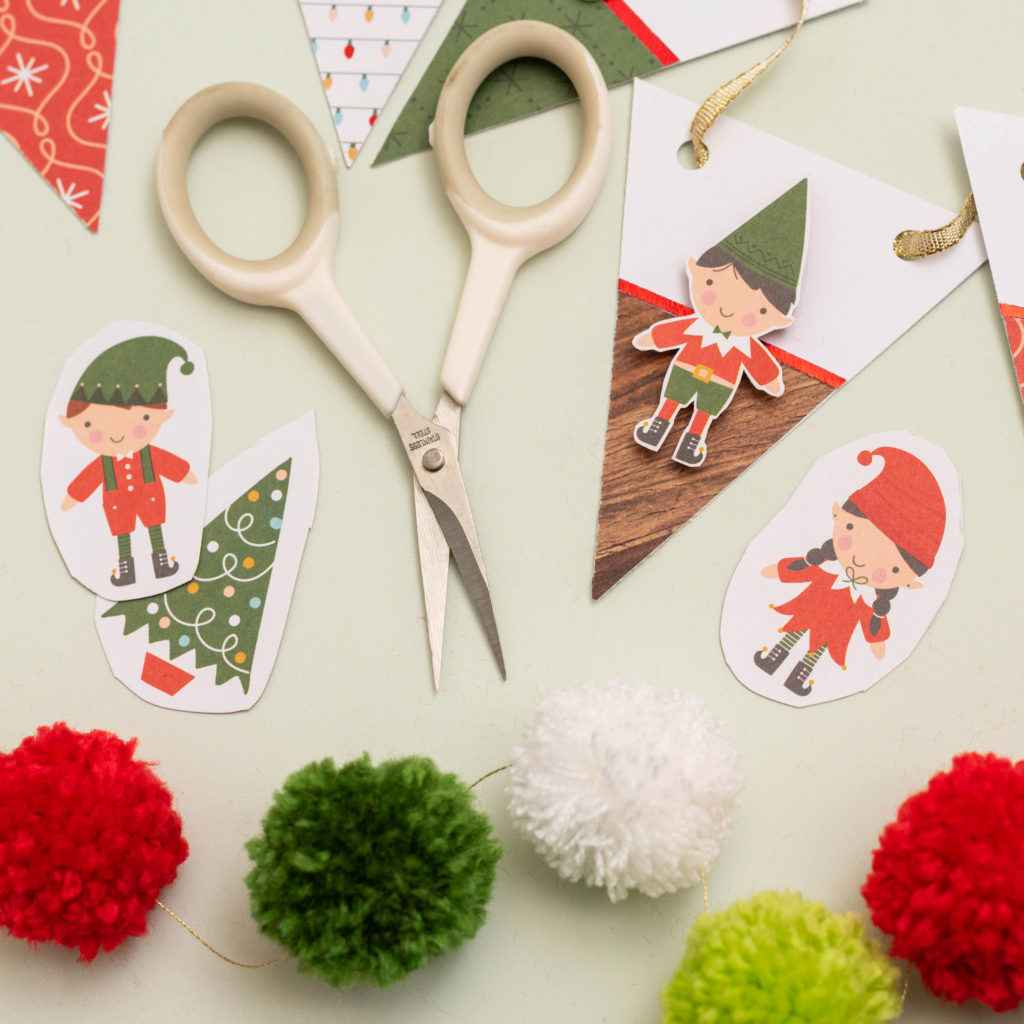 Three Holiday Craft Project Tutorials with We R Memory Keepers and JOANN Stores!