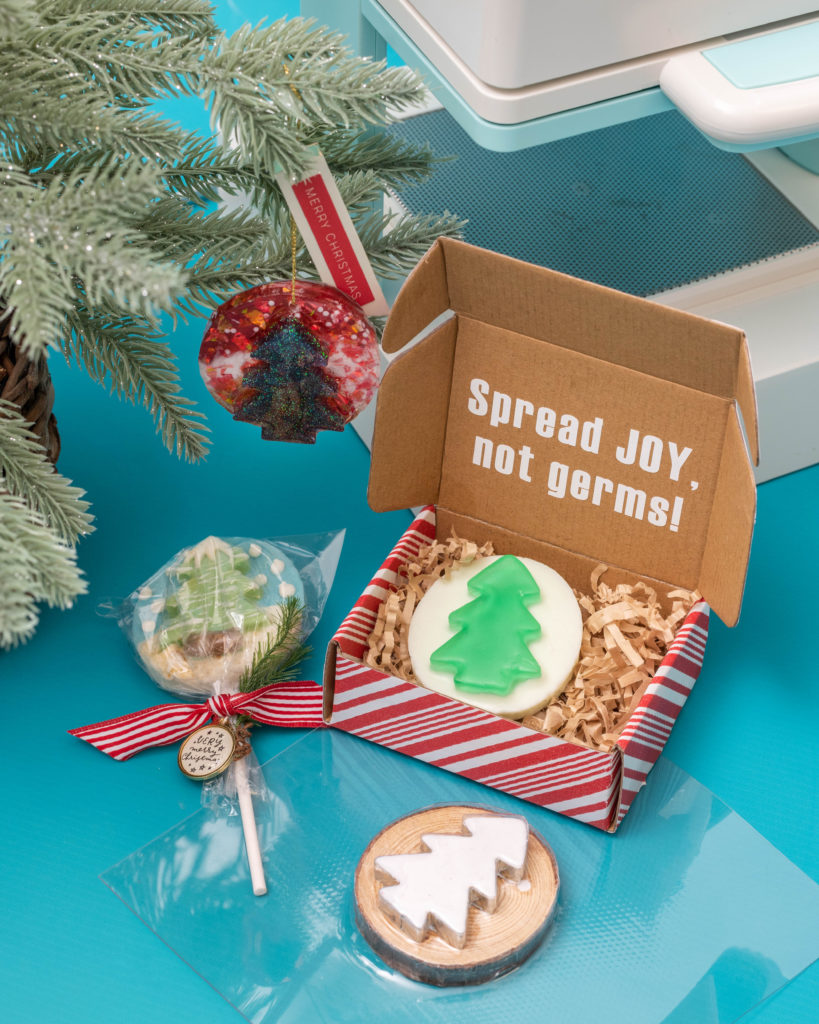 Learn how to make 3 easy holiday gift ideas with the Mold Press by We R Memory Keepers