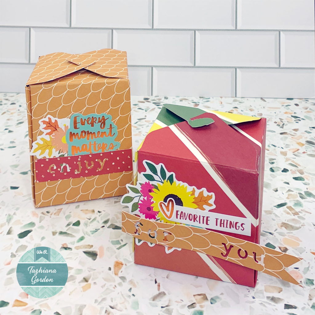 Make custom gift wrap for the holidays with We R Memory Keepers