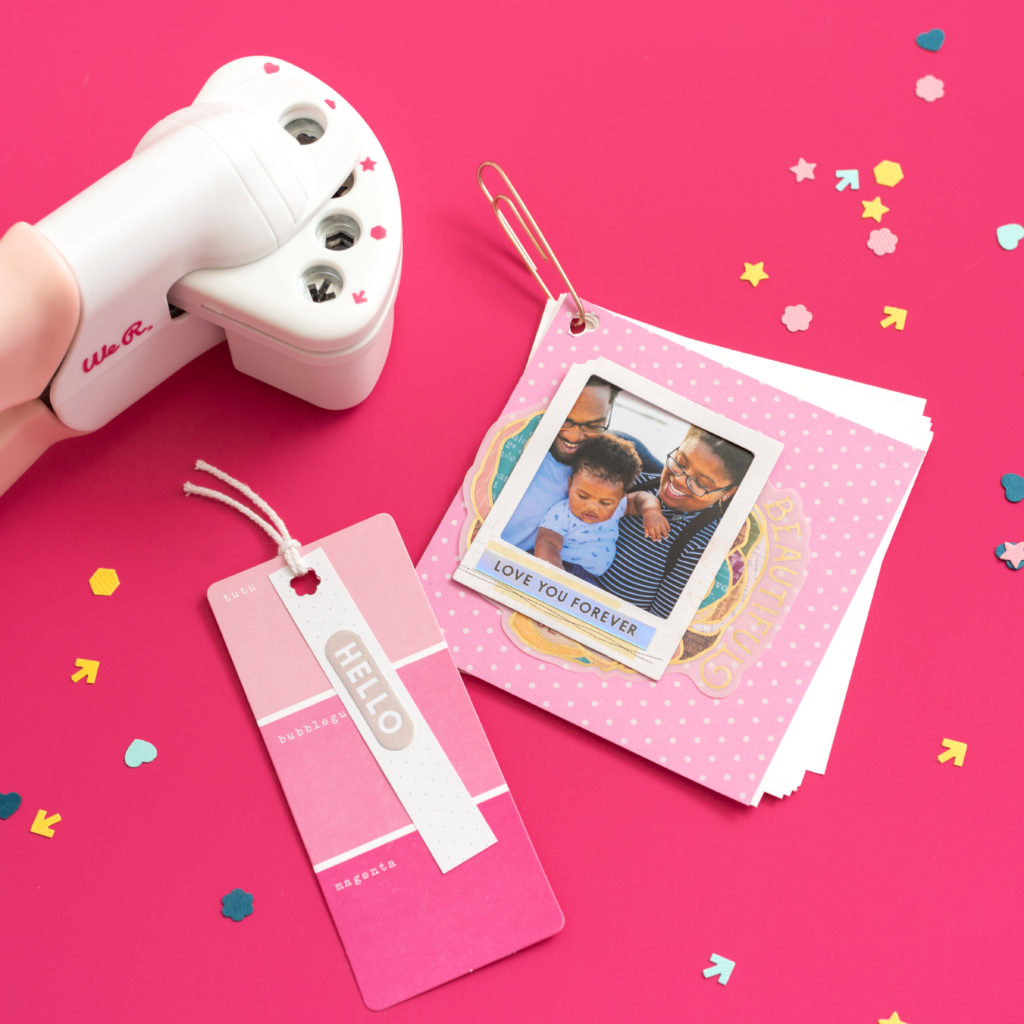 Crop-A-Dile Multi Hole Punch Pink by We R Memory Keepers