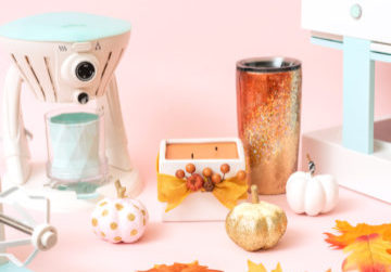 3 Fall Craft Ideas from We R Memory Keepers and JOANN Stores