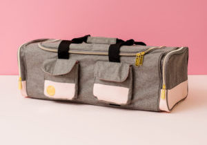 Check out the new Crafter's Machine Tote from We R Memory Keepers coming to retailers soon!