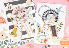Make your own buttons for cards with the Button Press by We R Memory Keepers!