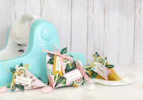 Make Spring Party Favors with the We R Memory Keepers Revolution Die Cutting and Embossing Tool
