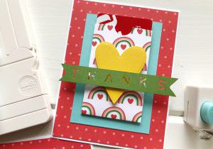 Make a Pocket Thank You Card with We R Memory Keepers Punch Boards