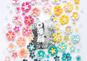 Create a Spring Themed Scrapbook Page with the We R Memory Keepers Layered Punches