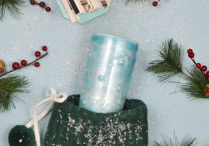 Make a Winter Wonderland tumbler with the Spin It Pro by We R Memory Keepers