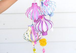 Kids Craft: Make Paper Lanterns for Summer with The Works All In One Tool by We R Memory Keepers!